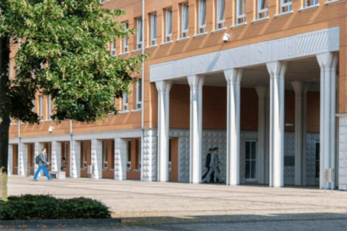 Paleis van Justitie in Den Bosch.