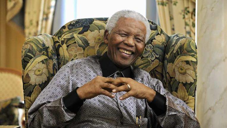 De voormalige president van Zuid-Afrika, Nelson Mandela, die deze week op 95-jarige leeftijd overleed. Beeld reuters