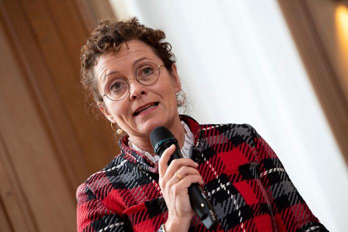 Vlaams minister van Mobiliteit Lydia Peeters