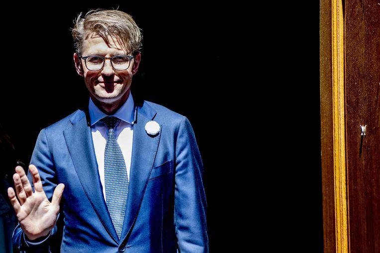 Sander Dekker, minister voor Rechtsbescherming. Beeld ANP