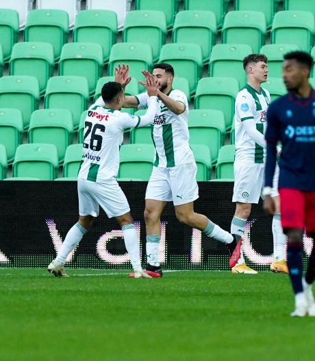 Afstandsschot El Messaoudi goud waard voor Groningen tegen Willem II