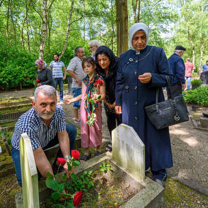 Een islamitische graf in Bergen op Zoom.