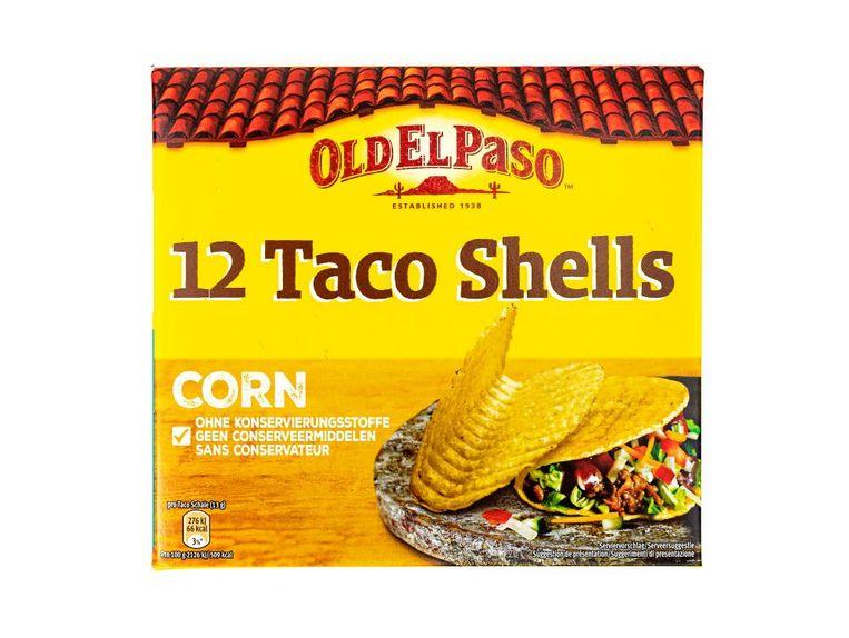 Old El Paso Taco Shells Corn