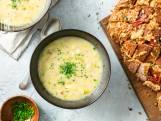 Wat Eten We Vandaag: Franse preisoep met comté-brood