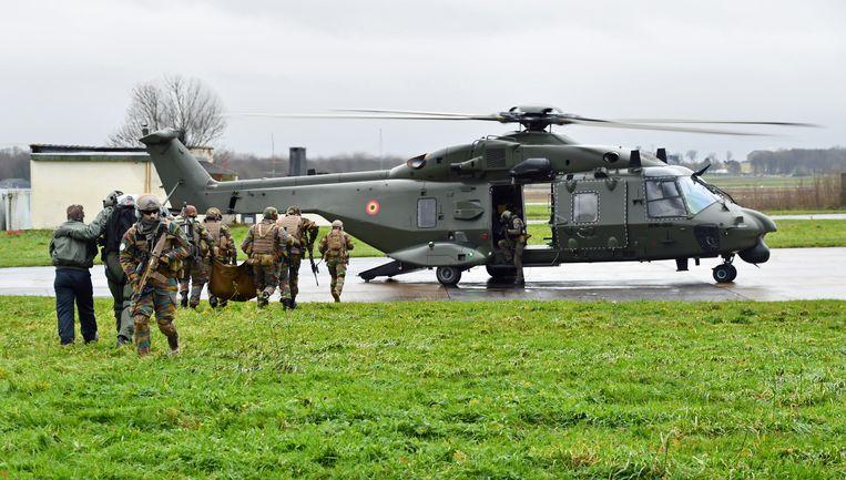 Archieffoto. NH90-helicopters zullen door de strijdgroep ingezet worden