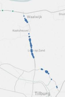 Vooral op Midden-Brabantweg en in Vught en Rosmalen uitkijken voor flitspalen