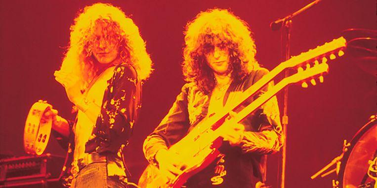 Robert Plant en Jimmy Page.