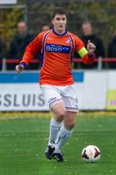 Chris de Wagt als speler van ONS Sneek in 2013.