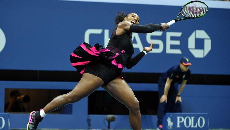 De Amerikaanse tennisster Serena Williams is een van de sporters die om medische redenen toestemming zou hebben om middelen te gebruiken die op de lijst met verboden producten van het WADA staan. Beeld afp