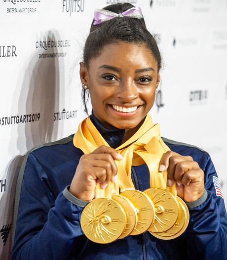 Ode van turner Bart Deurloo aan turnlegende Simone Biles gaat internationaal