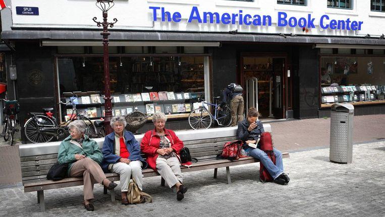 The American Book Center aan het Spui. Beeld Floris Lok