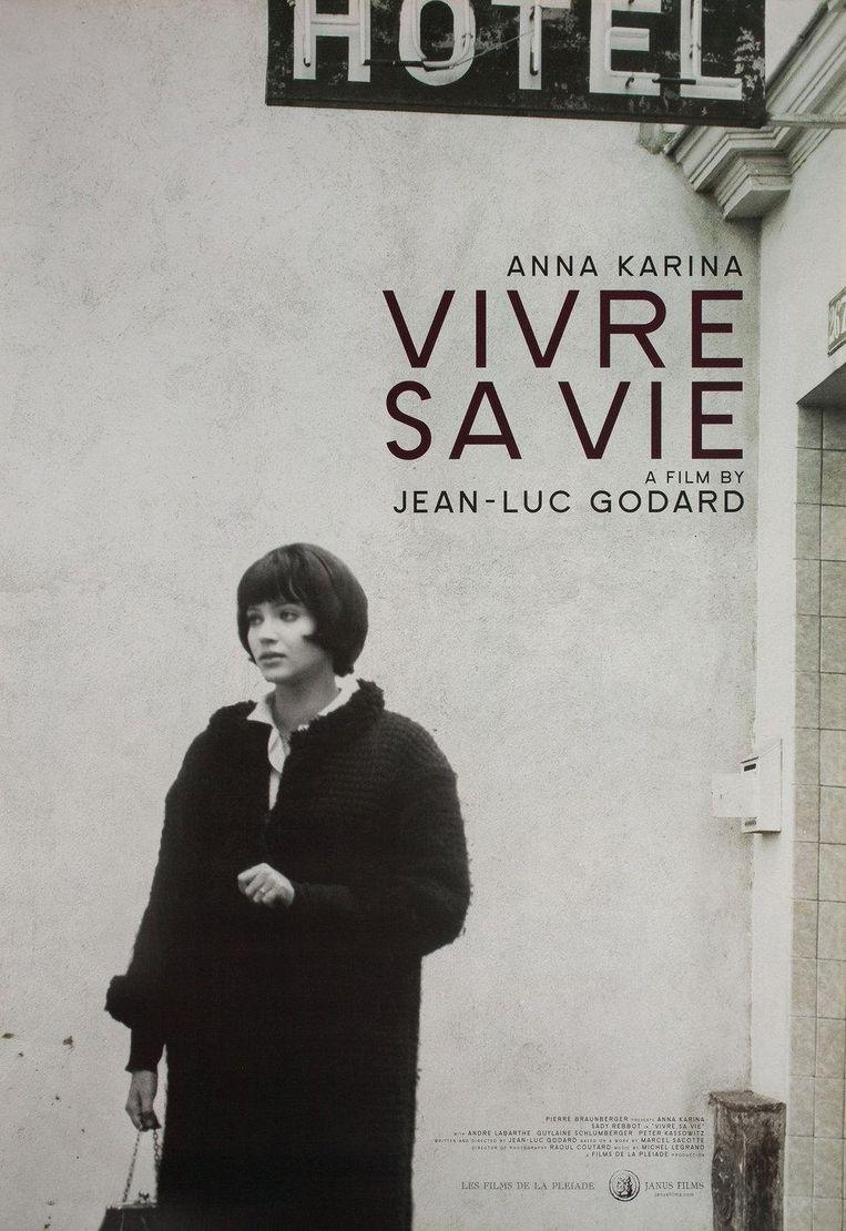 Affiche voor Vivre sa vie (1962) Beeld