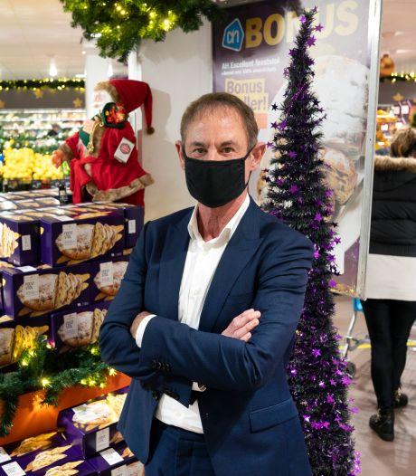 AH-baas Hans Geveling draaide topomzet tijdens kerst: 'Winkels konden drukte goed aan'