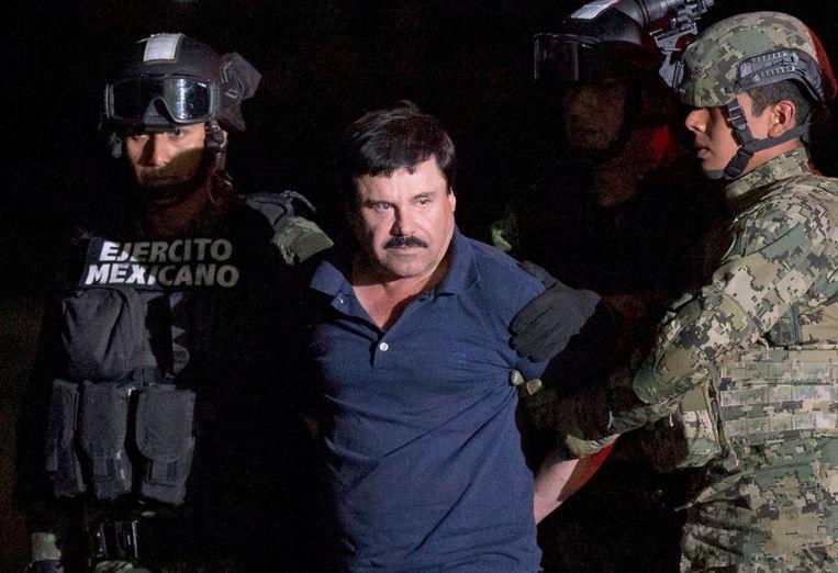 El Chapo na zijn arrestatie Beeld AP