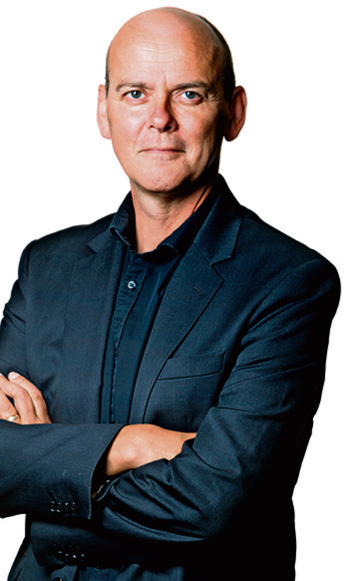 Nederland,  Den Bosch, columnist Frank van Pamelen