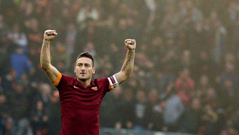 Francesco Totti. Beeld afp
