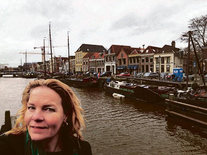 Aukje Grouwstra, de nieuwe binnenstadmanager van Zwolle