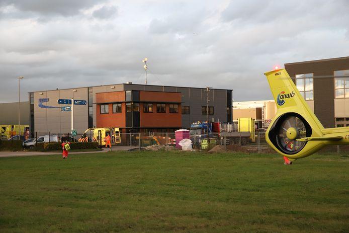De traumaheli vloog naar het incident in Geldermalsen afgelopen woensdag. Het slachtoffer overleed aan haar verwondingen, zo werd vandaag bekendgemaakt.