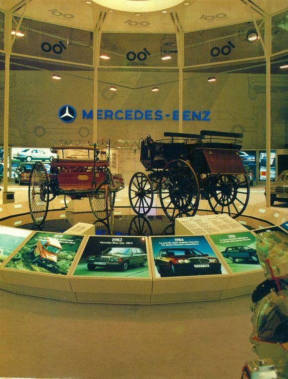 De Benz-replica kreeg in 1986 zelfs een ereplaats op de stand van Mercedes-Benz op het Autosalon.