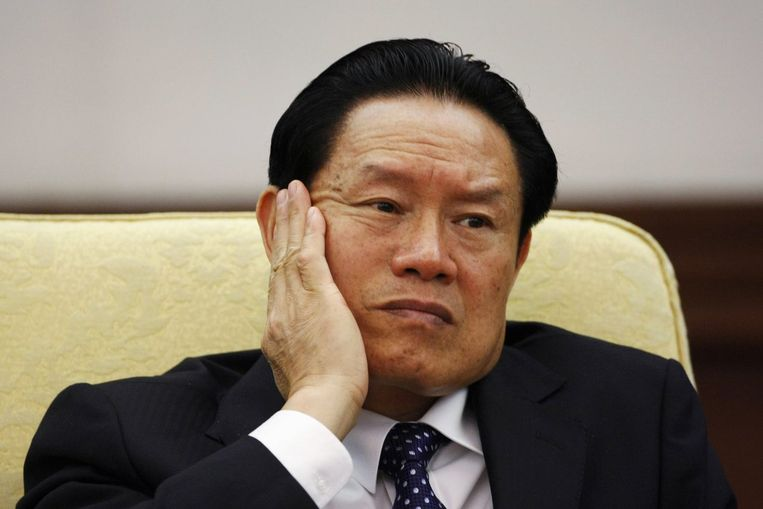Zhou Yongkang in 2007. Beeld reuters