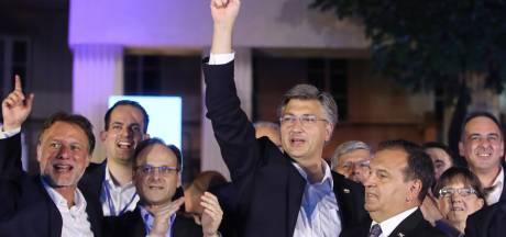 Ruime verkiezingswinst voor conservatieve premier Kroatië