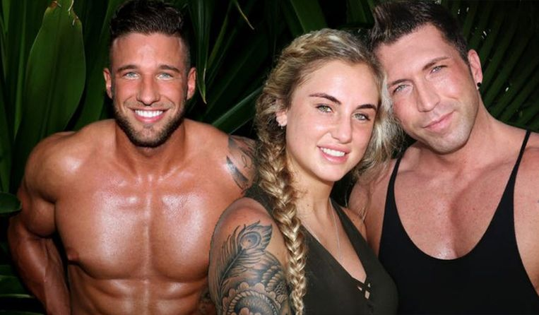 Alex, Rosanna en Niels