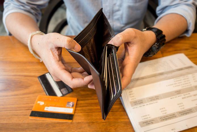 Een betalingsachterstand leidt al snel tot grotere problemen. Foto ter illustratie.