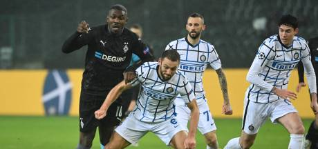 De Vrij en Inter grijpen strohalm bij Mönchengladbach