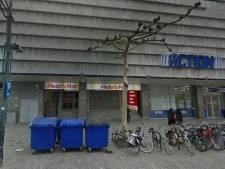 In dit pand in Rotterdam-Centrum komt een nieuw filiaal van Albert Heijn