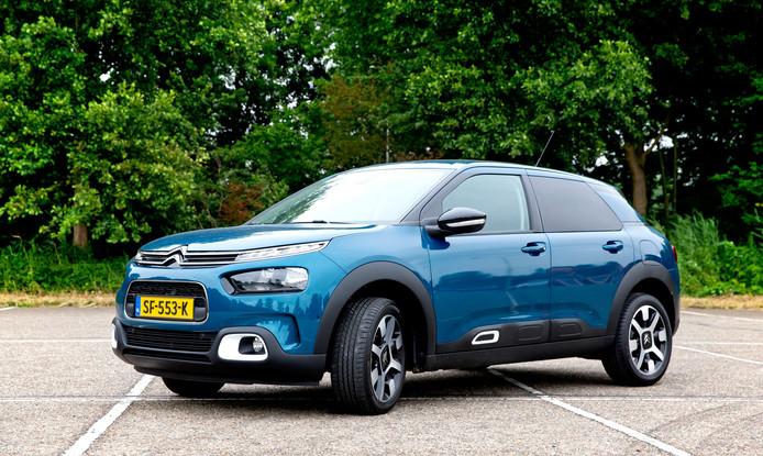 Met z'n eigenzinnige design is de Citroën Cactus nog altijd een opvallende verschijning.