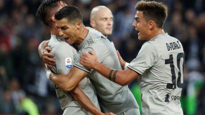 Bentancur en Ronaldo bezorgen 'Juve' uitzege bij Udinese