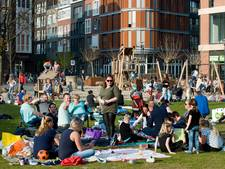 Iftar picknick op stadsstrand Veenendaal