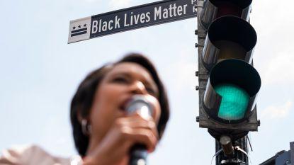 Burgemeester Washington verandert naam van straat richting Witte Huis naar Black Lives Matter Plaza