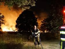 Grote brand op heide bij Molenhoek geblust