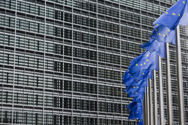 Het gebouw van de Europese Commissie in Brussel.