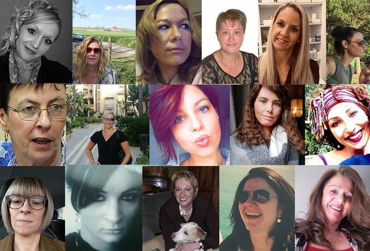Al deze vrouwen lieten dit jaar het leven door partnergeweld. Vijf families getuigen over het gemis.
