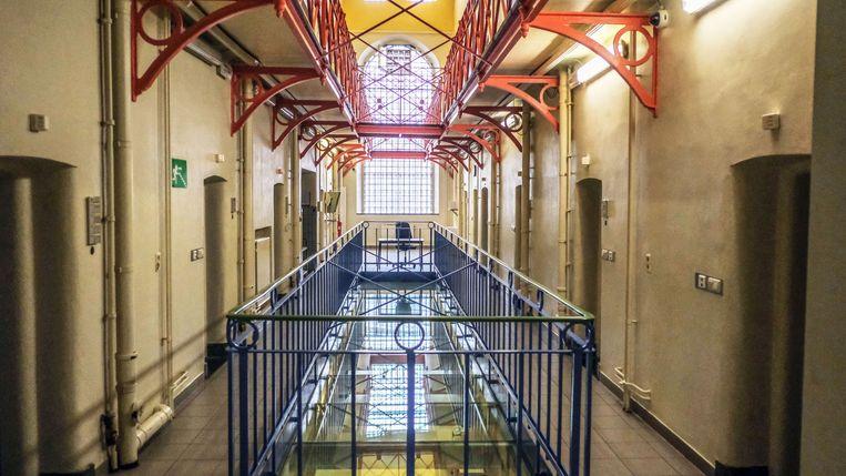 Opendeur in de gevangenis van Ieper.