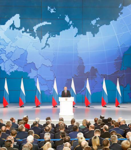 Poetin kondigt nieuw supersonisch raketsysteem aan