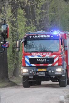 Flinke veenbrand in Winterswijk, treinverkeer weer op gang