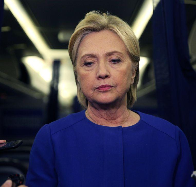 Trumps tegenstander Hillary Clinton.