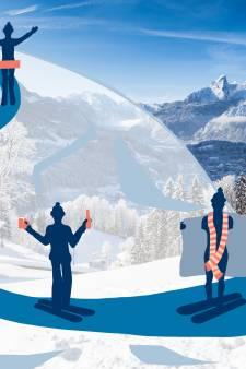 Expedia: Nederlanders 'wildste' wintersporters ter wereld