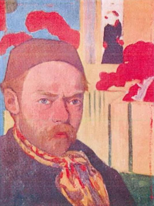 Meyer de Haan: 'Autoportrait' (circa 1889 ¿ '91)