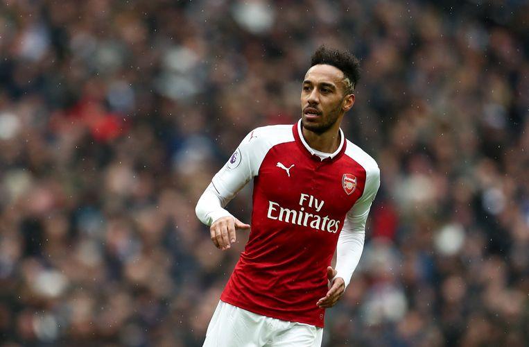 Arsenal kan niet rekenen op Aubameyang, want die is niet speelgerechtigd in de Europa League.