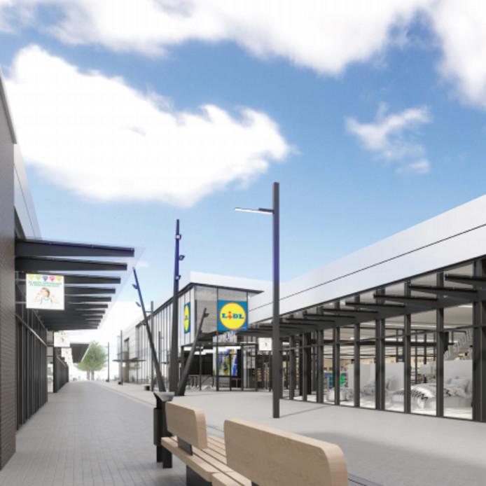 Lidl Kersttrui 2019.Uitbreiding Voor Winkelcentrum Heyhoef In Tilburg Nieuwe Lidl En