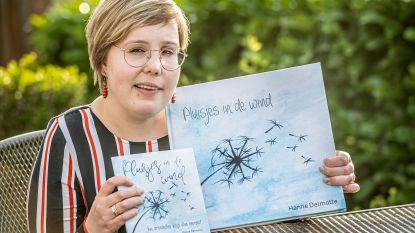 """Na tragisch quad-ongeval moest Hanne alles opnieuw leren, nu heeft ze een eigen boek geschreven: """"Al schrijvend kan ik al mijn gedachten en emoties kwijt"""""""