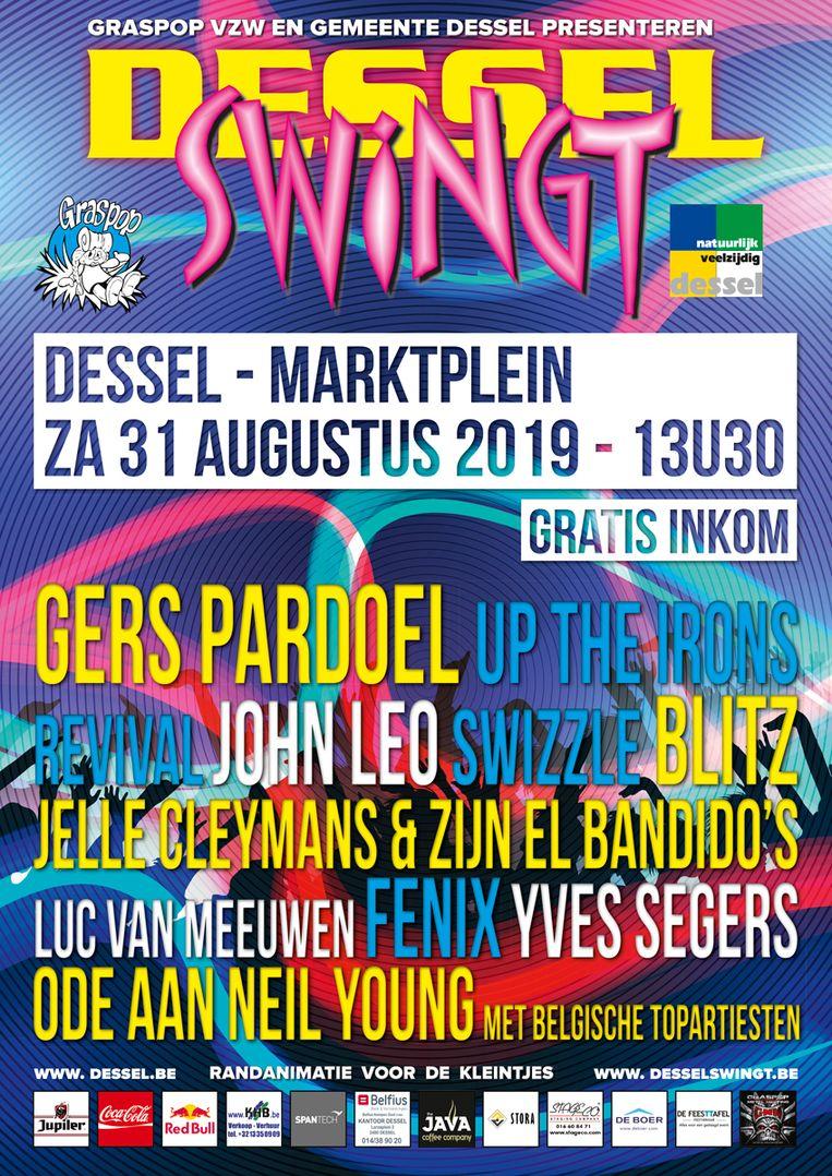 De affiche van Dessel Swingt 2019