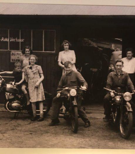 Stokoud familiekiekje siert nu wand van pompstation in Wierden