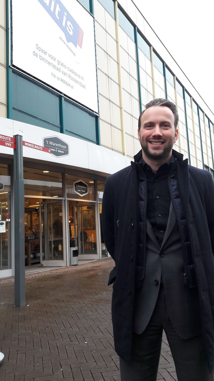 Erik Tillemans van Syntrus Achmea Real Estate & Finance ontvouwde deze week de plannen voor het V&D-complex in Roosendaal.