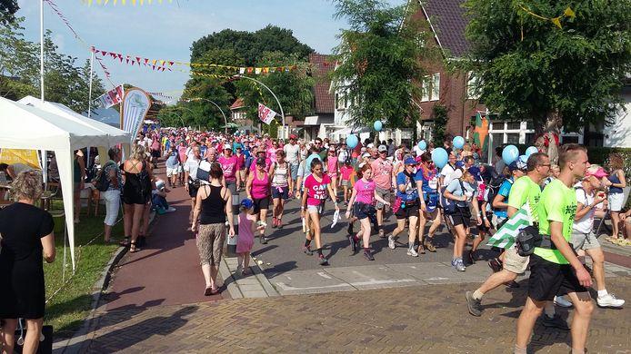 De Vierdaagse loopt door Wijchen.