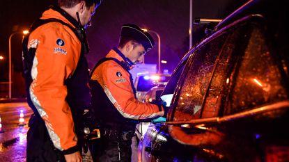 Negen bestuurders onder invloed tijdens 'Weekend zonder alcohol'